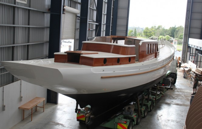 22m sailing yacht Windhaven at Yachting Developments