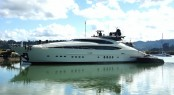 46m Palmer Johnson super yacht Vantage at Oceania Marine