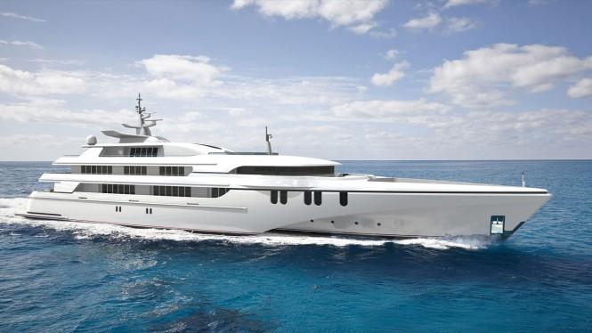 84m Echo Mega Yacht
