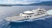 84m Echo Trimaran Motor Yacht