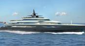 86m Adamantine yacht concept by Ivan Erdevicki