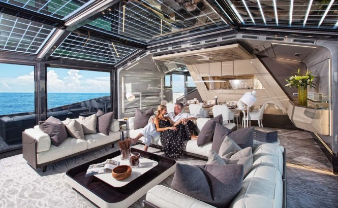 8th Arcadia 85 US edition superyacht - Saloon