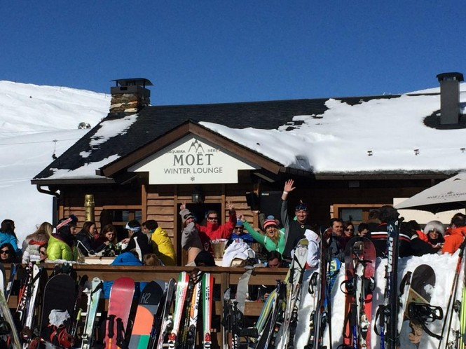 A very successful ski weekend for superyacht captains and crew in Baqueira Beret