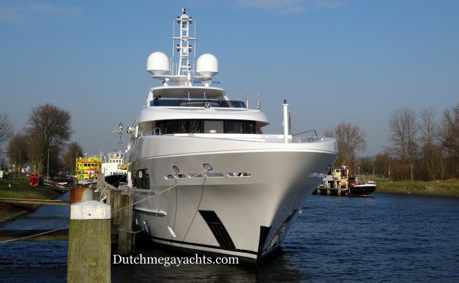 ASYA superyacht - front view