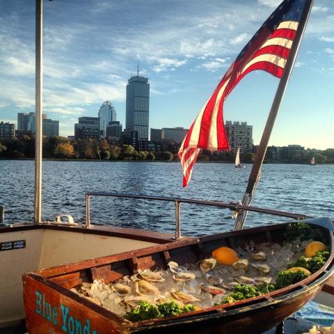 Aboard FULL MOON yacht in Boston