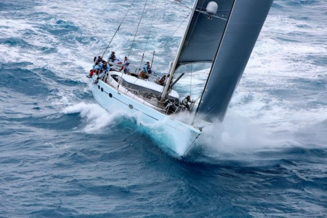 Anthony Todd's Performance Yachts 100, Liara, sailed by Peter Morton (GBR) ©RORC/Tim Wright/Photoaction.com