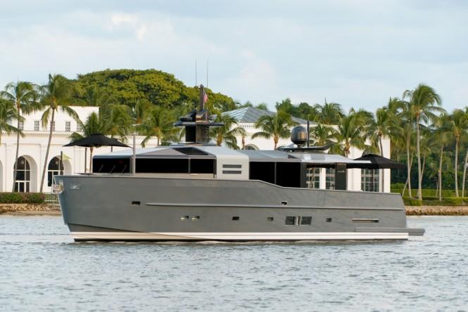 Arcadia 85 US edition motor yacht Hull no. 8 by Arcadia Yachts