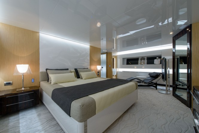Arcadia 85 US edition super yacht Hull no. 8 - Master stateroom