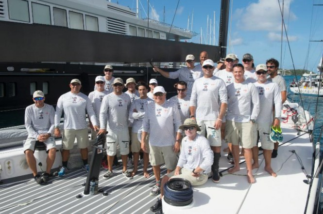 Bella Mente Racing Team before the start of the RORC Caribbean 600  ©RORC/Ted Martin/Photofantasy Antigua http://photofantasy.zenfolio.com