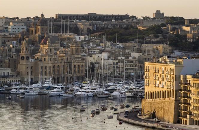 C&N's Grand Harbour Marina - a beautiful Malta yacht rental destination