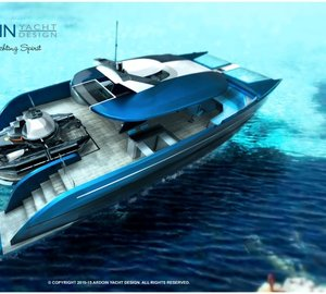 Ardoin Yacht Design catamaran DEEP BLUE concept among IY&A Awards 2015 Finalists