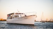 Classic motor yacht FULL MOON