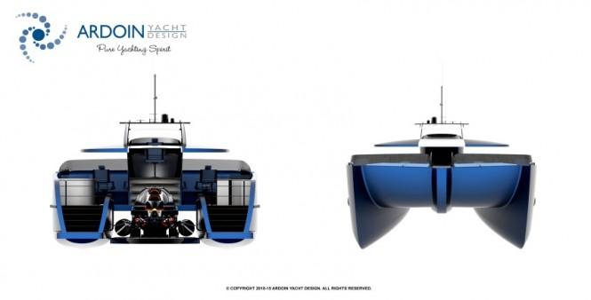 DEEP BLUE superyacht support vessel - Layout
