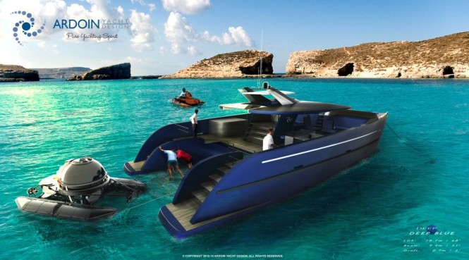 DEEP BLUE yacht support vessel