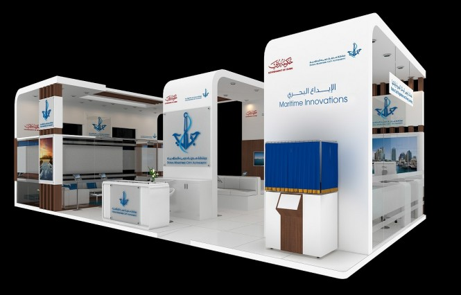 DMCA's stand at Dubai International Boat Show 2015