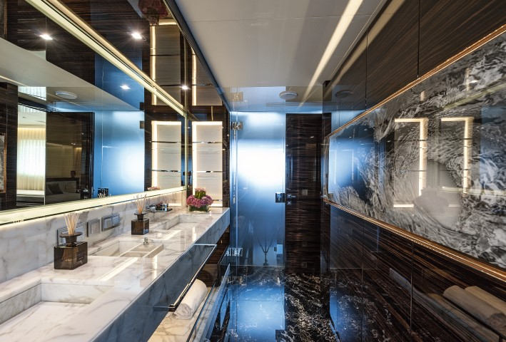 Entourage Yacht Bathroom Luxury Yacht Charter Superyacht News