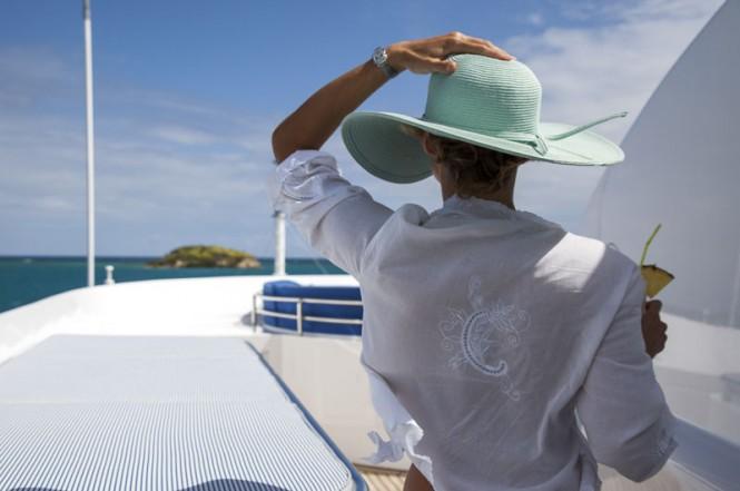 Explore onboard superyacht STARFIRE