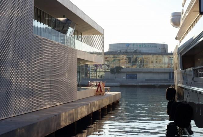 Facilities at OneOcean's Marina Port Vell in Barcelona