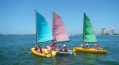 Free kids sailing lessons will be on offer as part of the Expo's commitment to introducing families to the joys of boating in 2015