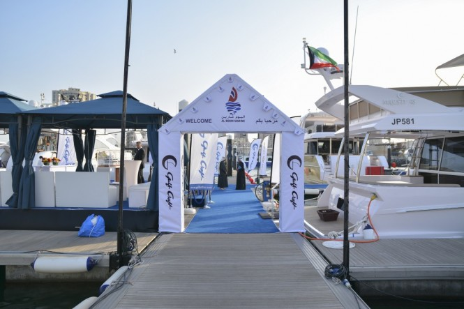 Gulf Craft at the Kuwait Yacht Show 2015