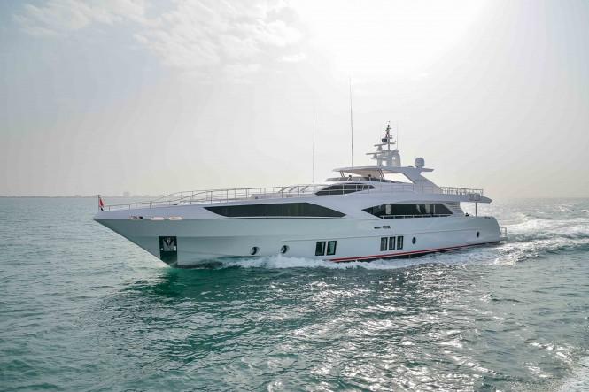 Gulf Craft superyacht Majesty 122