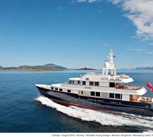 Corsica Yacht Charter  on board Superyacht CALLIOPE