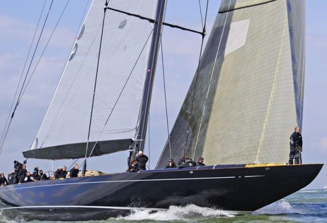 J Class Yacht Lionheart ©  Marina Johnson