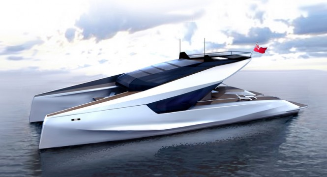 JFA 115' Power Catamaran Concept