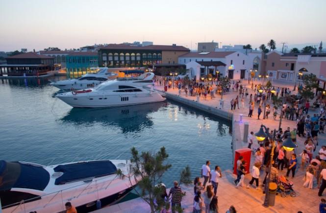 Limassol Marina - a glamorous Mediterranean yacht holiday location