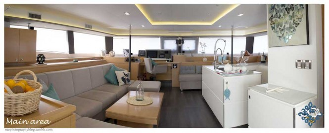 Luxury catamaran LIR