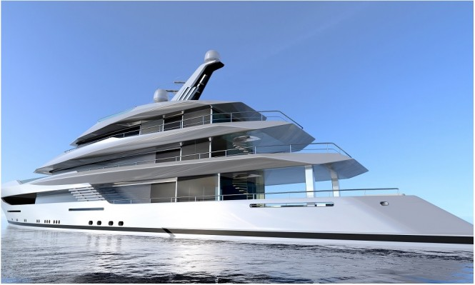 Luxury motor yacht Hull 812 by Feadship