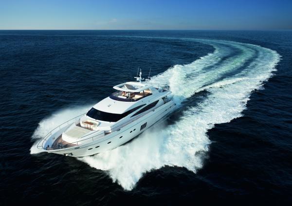 Luxury superyacht Princess 98 by Princess Yachts