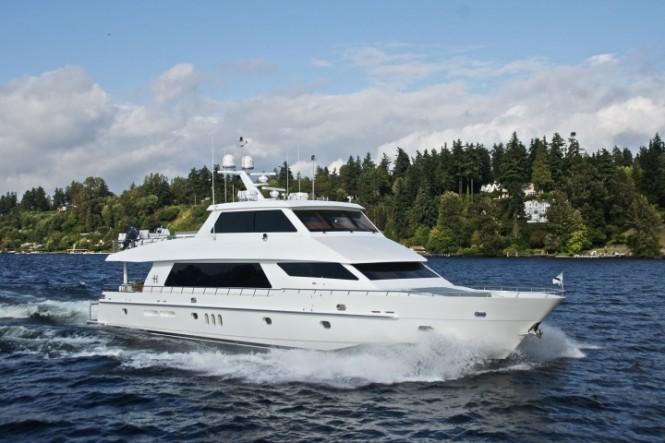 Luxury yacht SeaVenture