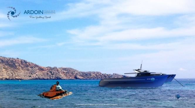Luxury yacht support vessel DEEP BLUE
