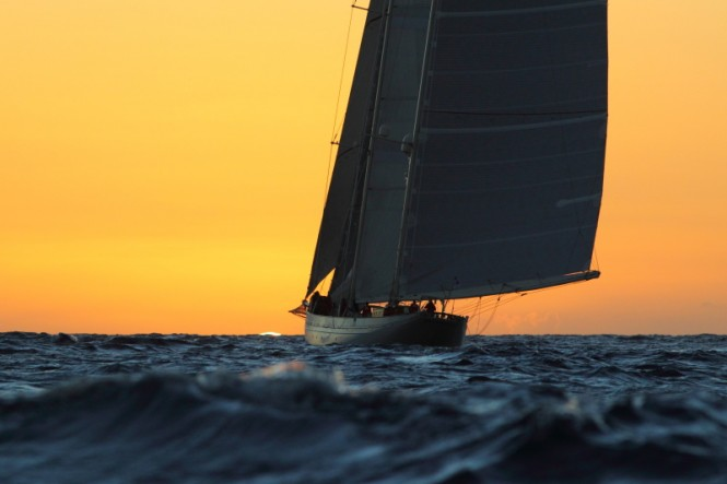 Majestic schooner, Adela ©RORC/Tim Wright/Photoaction.com