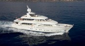 Moonen 124 charter yacht Northlander to be displayed at the 2015 Miami International Boat Show