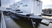 New 46m superyacht KISS (hull 689) by Feadship and Dubois Naval Architects at launch