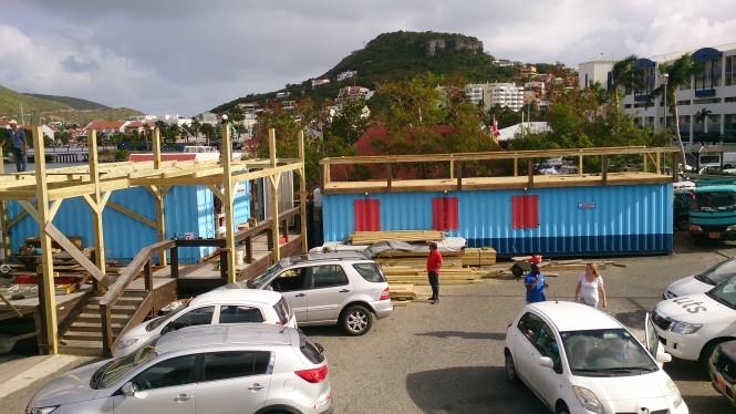 New Budget Marine Lounge under construction