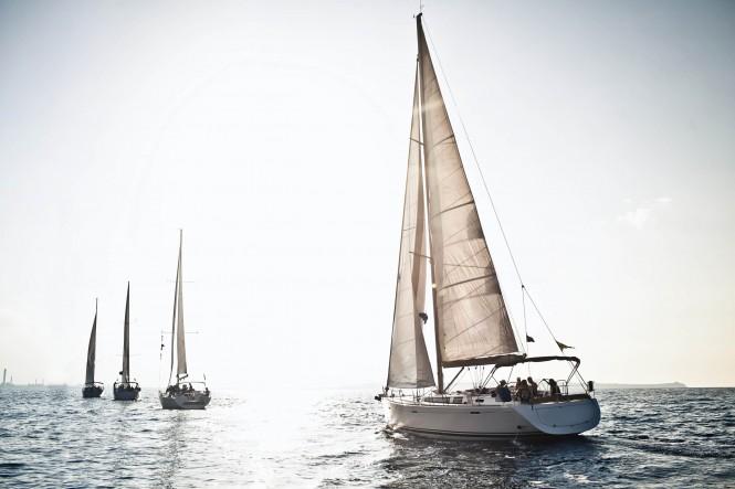 New sailing section at the Dubai International Boat Show 2015