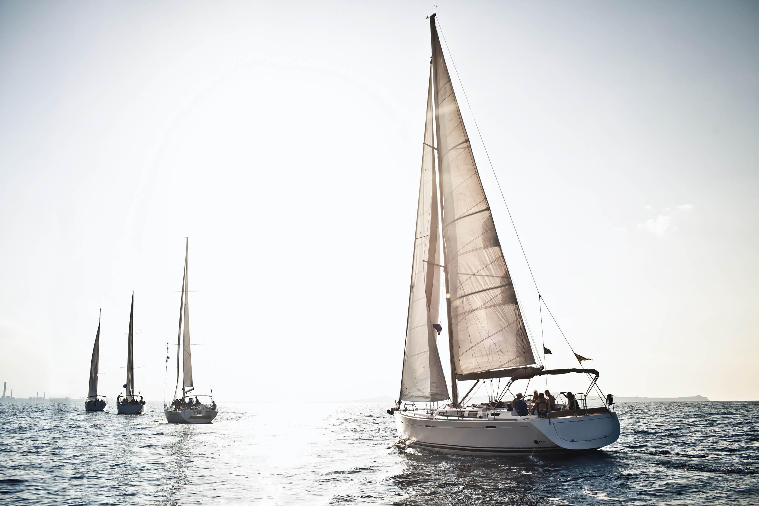 New sailing section at the dubai international boat show for The sail dubai