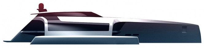 New superyacht 150 Sunreef Power Trimaran Concept - Profile