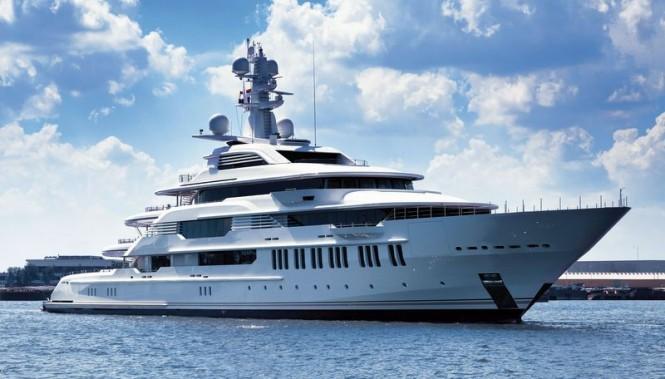 Oceanco Y710 super yacht INFINITY