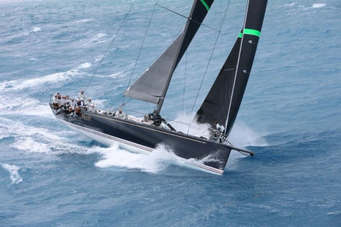 Overall winner of the 2015 RORC Caribbean 600, Hap Fauth's JV72, Bella Mente ©RORC/Tim Wright/Photoaction.com