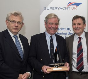 Piers Wilson receives inaugural Superyacht UK Lifetime Achievement Award