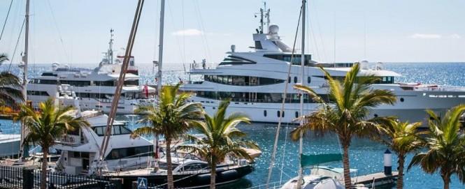 Puerto Calero - a fantastic Spain yacht rental destination
