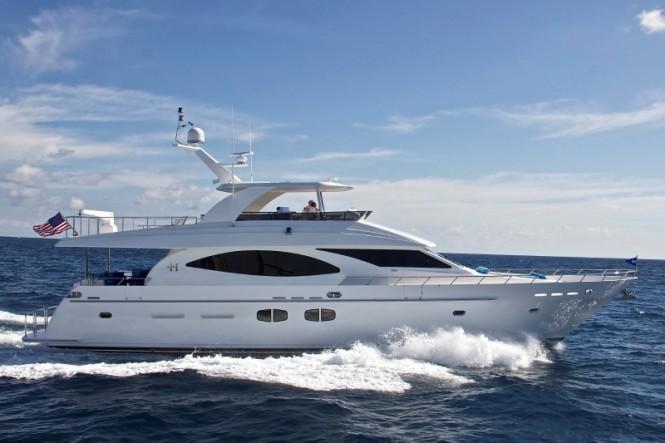 Quiet Sun Yacht underway