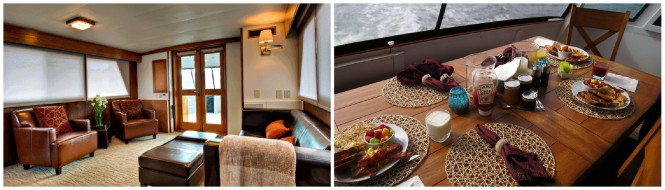 Relax aboard motor yacht VIAGGIO
