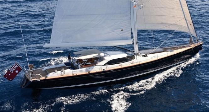 Sailing Yacht Alcanara - Image courtesy of Dubois Naval Architects