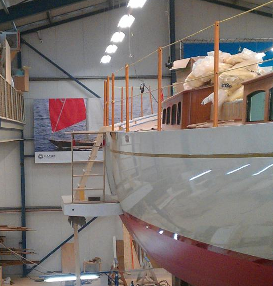 Side Boarding Platform