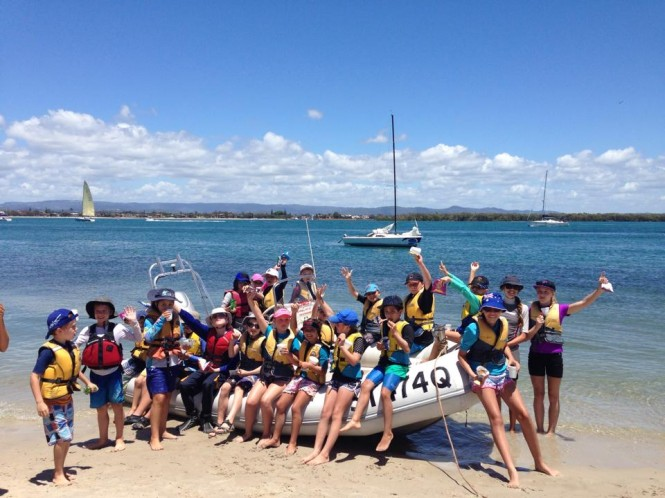 Southport Yacht Club conducts regular school holiday camps and weekend training for budding sailors